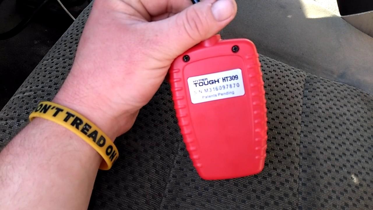 Review on hyper tough ht309 scannr tool
