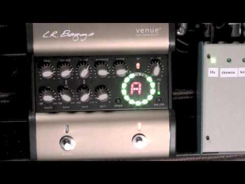FPE-TV LR Baggs Venue D.I. Acoustic Guitar Pre-Amp Demo