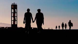 walk, couple, romantic, sky, romance, lovers, retirement, lifestyle, happiness, stroll, friends, tog