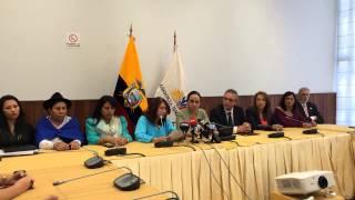 María Augusta Calle explica resolución apoyo Argentina