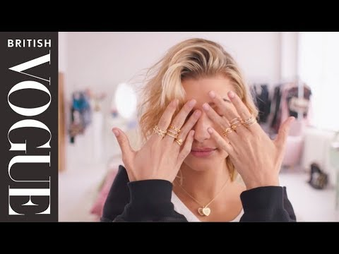 The Full Look With Hailey Baldwin | British Vogue & Pandora