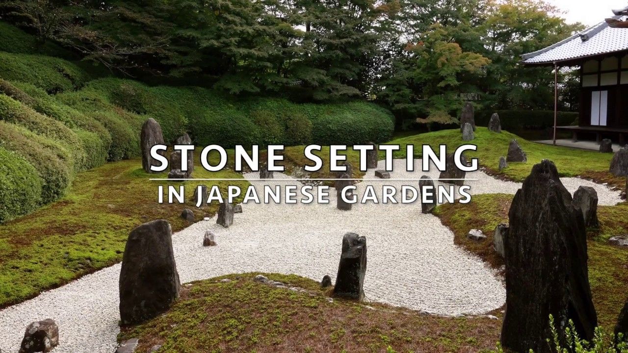 Stone settings in the japanese garden hd youtube stone settings in the japanese garden hd workwithnaturefo