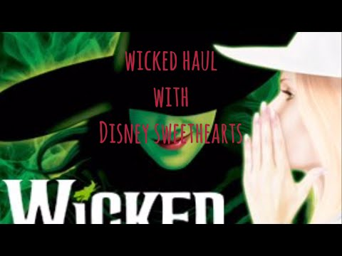 Wicked Haul - August 2016 - Totally awesome show and goodies