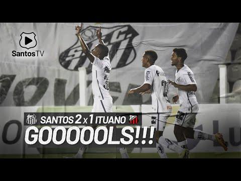 SANTOS 2 X 1 ITUANO | GOLS | PAULISTÃO (13/03/21)