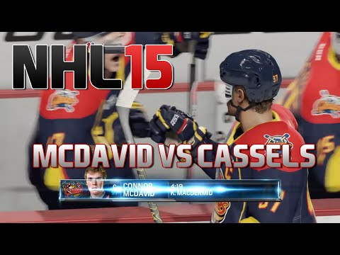 NHL 15: Connor McDavid vs Cole Cassels (Uncensored, Rules Off)