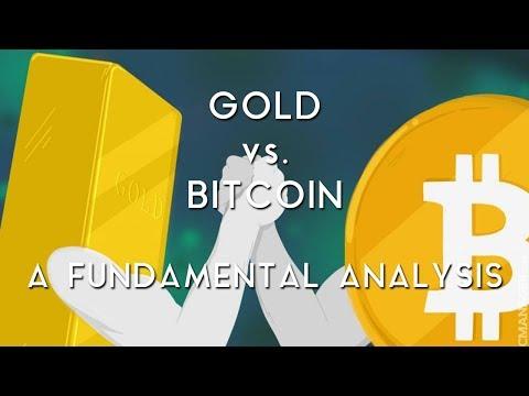 GOLD VS. BITCOIN | A Fundamental Analysis