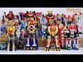 All Super Sentai NewGen Main DX Gattai Robo 2001 - 2010! スーパー戦隊ロボ! 2001 - 2010