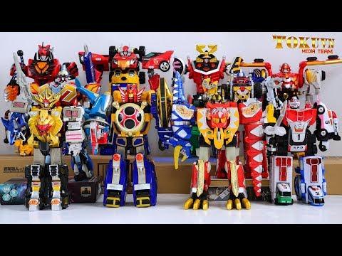 All Super Sentai NewGen Main DX Gattai Robo 2001  2010! スーパー戦隊ロボ! 2001  2010