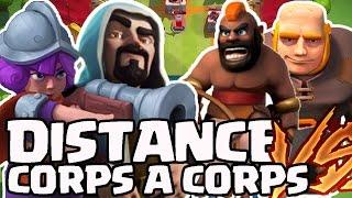 Clash Royale - CORPS À CORPS VS TROUPES À DISTANCE :: CHALLENGE Feat. Un lève tard.