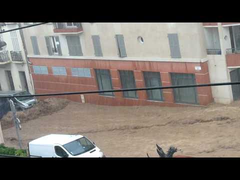 draguignan inondation