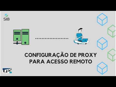 Configuração de proxy