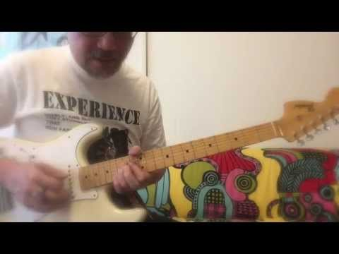 Jimi Hendrix Hey Joe Guitar Licks Lesson