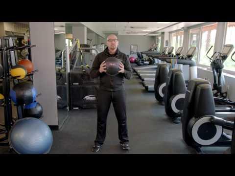 How to Do a Medicine Ball Squat Get Up