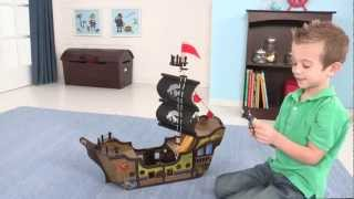 Wooden Pirate Ship Play Set - Item 63262