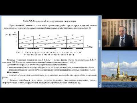 Лекция № 7 Способы и методы организации строительного производства