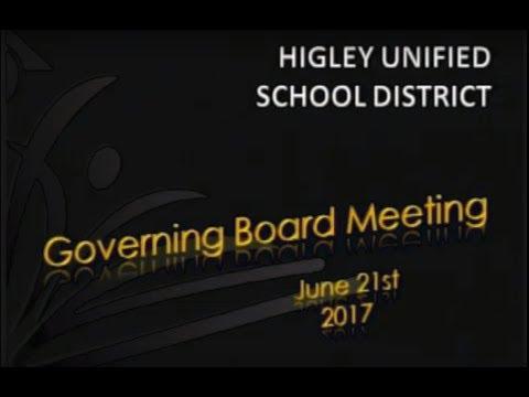Husd Governing Board Meeting June