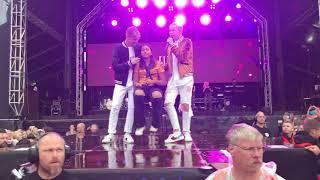 Marcus & Martinus - First Kiss, Borlänge 28/6-18
