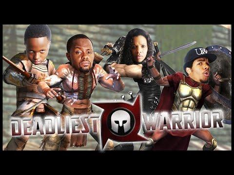 WHO'S THE DEADLIEST WARRIOR?! - Family Beatdown 12 Pt.1 I Deadliest Warrior Gameplay