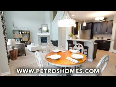 Arrington Village Homes In Avon Lake Oh By Petros Homes Youtube