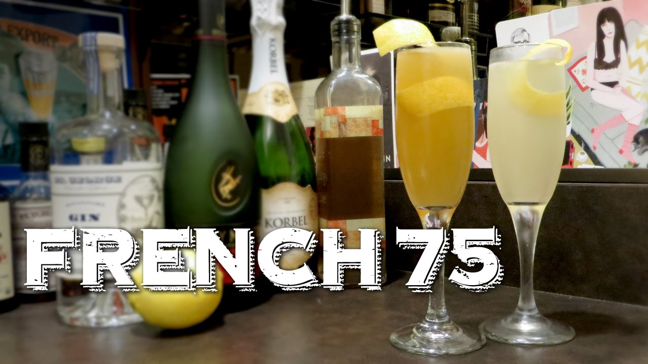 French 75 - A Classic Cocktail Made Two Ways: Gin vs  Brandy (aka French  125)