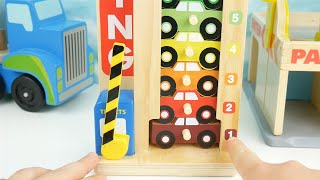 Best Color learning video for children preschoolers toy cars truck toys learn English Compilation