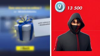 "🎁HOW TO THE SKIN ""IKONIK"" FREE ON FORTNITE! CONCOURS 1000 ABONNEES!🎁"