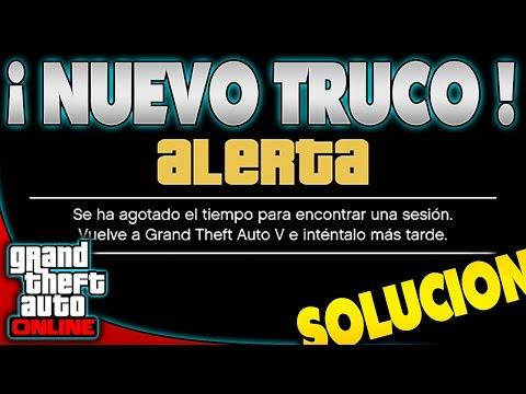 ERROR !! GTA 5 Online - SOLUCION PARA CONECTAR A ONLINE SIEMPRE ! Muy Facil GTA V