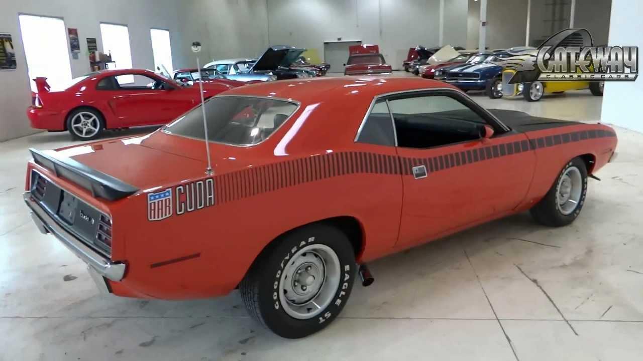 1970 Plymouth Cuda Aar Youtube