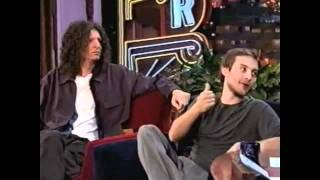 Howard Stern & Tobey Maguire on The Tonight Show, 2000