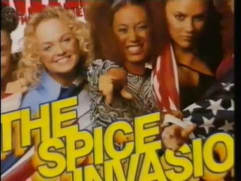 O Zone Special Jamie Theakston interviews The Spice Girls 13-7-1997 (FULL SPECIAL)