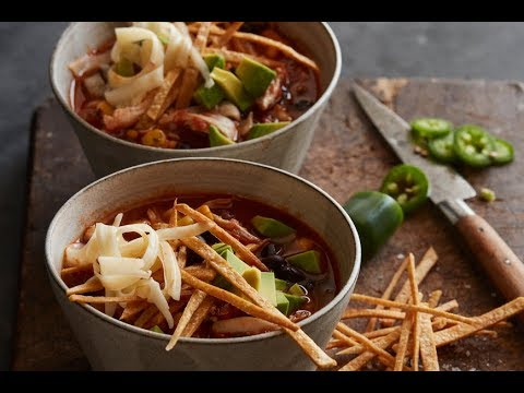 The Best Chicken Tortilla Soup Ever