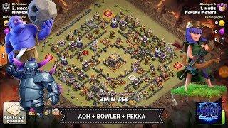 Perfect HDV11 vs HDV11 / AQH + Bowler + Pekka Clash of Clans