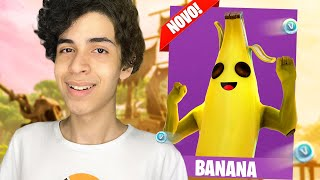NOVA *MELHOR* SKIN DE BANANA NO FORTNITE - Fortnite ( Battle Royale)