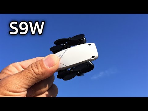 S9W Foldable WIFI CAMERA  Mini Drone