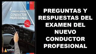 (PARTE 1) prueba o examen del nuevo conductor profesional, para  licencia de conducir A2,A3,A4 Y A5