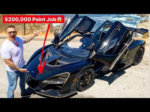 "MEET ""MERLIN"" THE 1 OFF MCLAREN SENNA YOU CANT BUY!"
