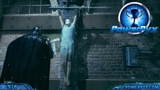 Batman Arkham Knight - The Perfect Crime Side Mission Walkthrough (Mutilated Bodies Locations)