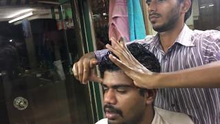 ASMR Best Indian Head Massage|Coconut Oil Head Massage by Vicky|Silent Head Massage|1080P