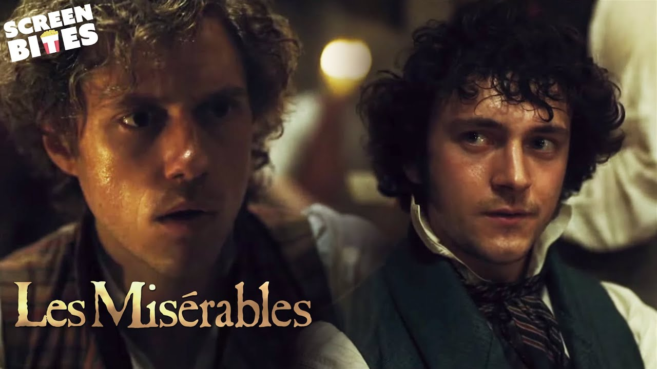 Red And Black Song The Conflict Between Love And Revolution Les Miserables Scenescreen Youtube