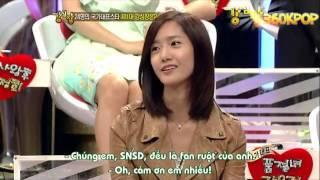 [YoonGi Moments] Yoona Lee Seung Gi in Strong Heart Ep 1