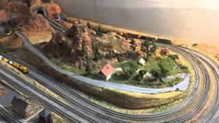 4'x8' n scale layout