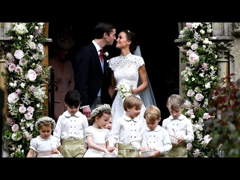 Pippa Middleton gets married to James Matthews