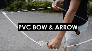 How to Make a PVC Bow in Two Minutes (POWERFUL)