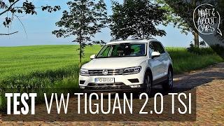 VOLKSWAGEN TIGUAN TEST, recenzja VW Tiguan 2.0 TSI #34 WAC