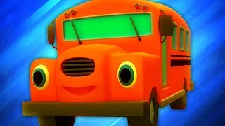 Ruedas En El Autobús   Canciones Infantiles   Wheels On The Bus