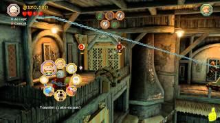 Lego The Hobbit: Level 12 A Warm Welcome - FREE PLAY (All Minikits, Treasures & Design) - HTG