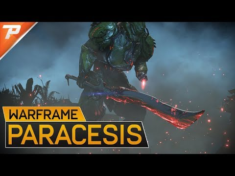 Warframe: THE Sentient Killing Sword - The Paracesis (Spoilers)