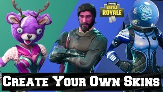 Fortnite Tips - How To Create Your Own Skin