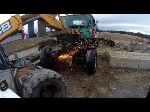 Salvage Truck Parts