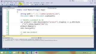 In this video, I will demo how to create CRUD operations using LINQ...
